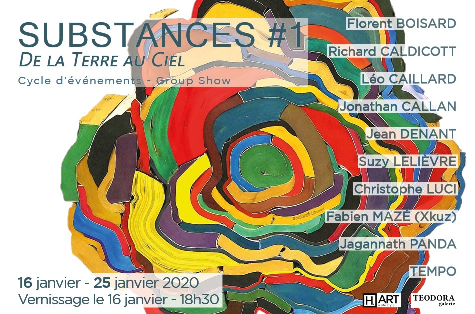 Substances #1 SITE TEODORA visuel CAILLARD